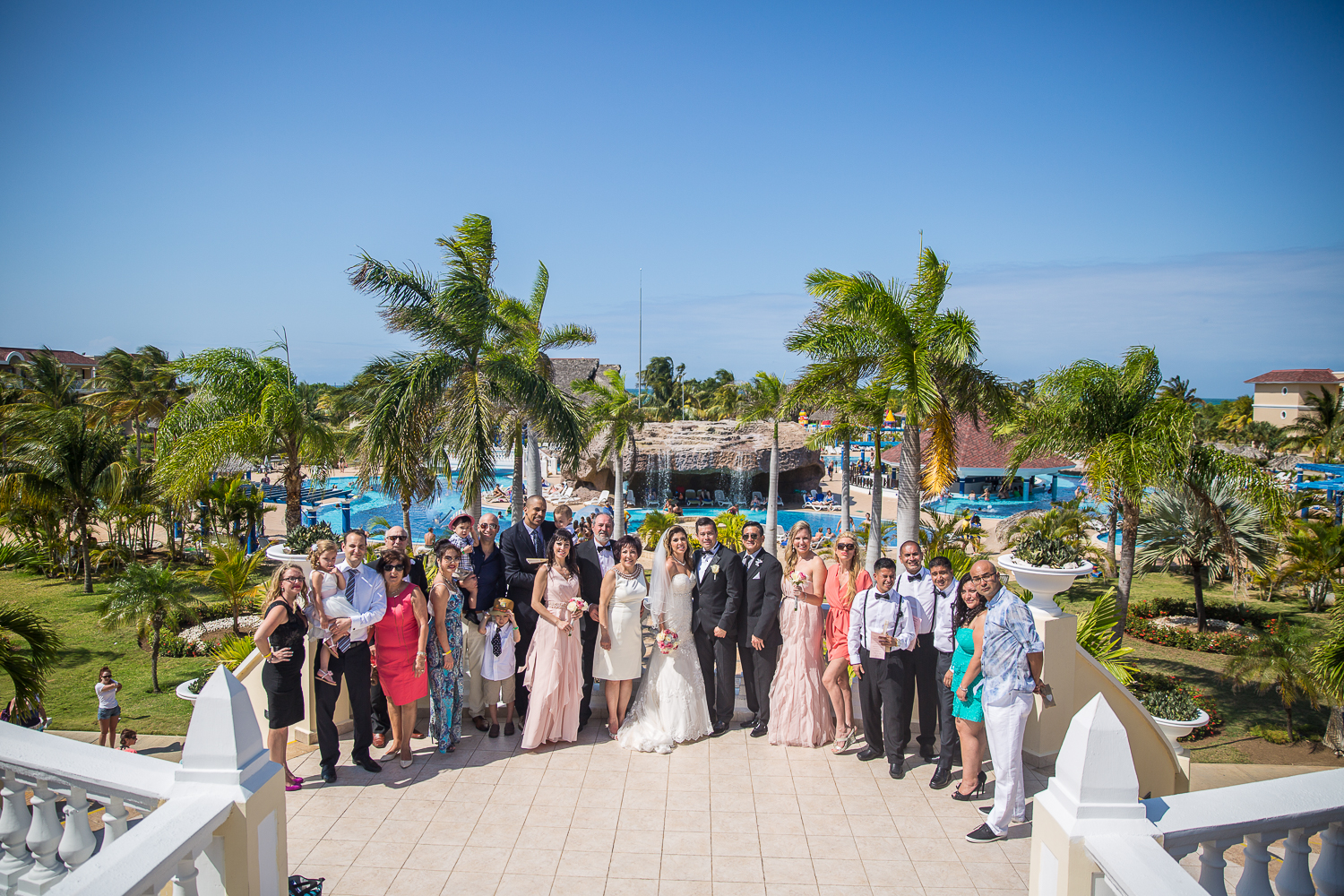 Iberorstar Laguna Azul Destination Wedding
