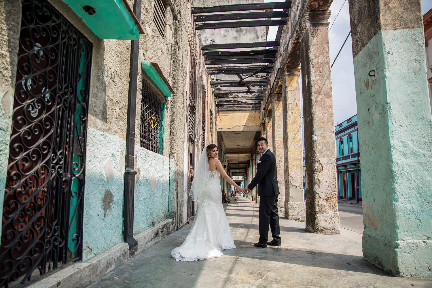 Havana Cuba Destination Wedding Shoot