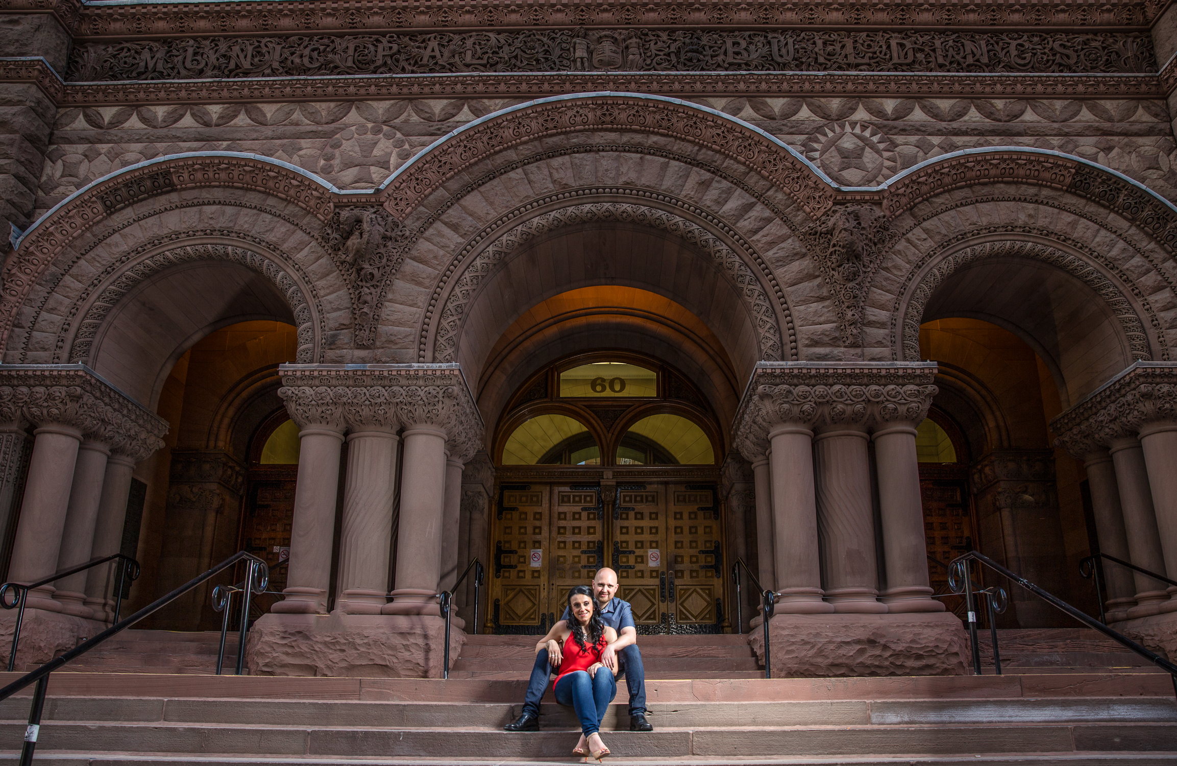 Downtown Toronto & City Hall Engagement Shoot | Derrel Ho-Shing