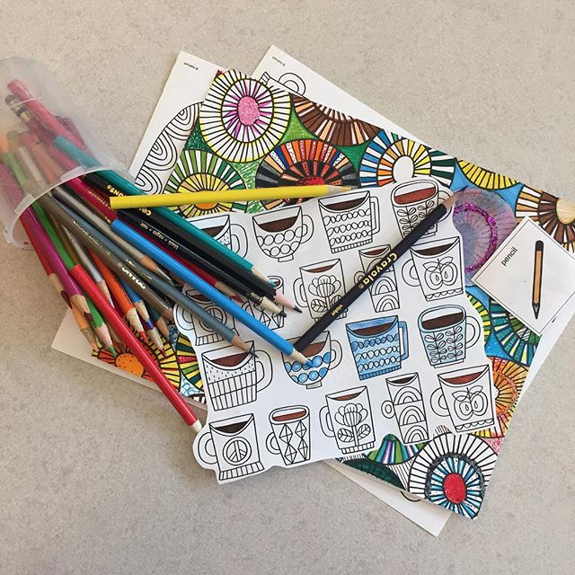 #NationalColoringBookDay #ArtTherapy  Get the max benefit of using art making for self-care by teaming up with an Art Therapist in your area! #🎨