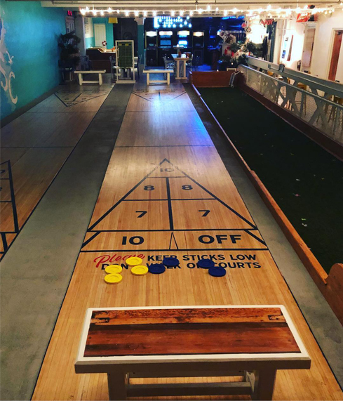 Free round of shuffle board - Show your neighborhood Troy Restaurant Week Receipt * Must be same day of purchase