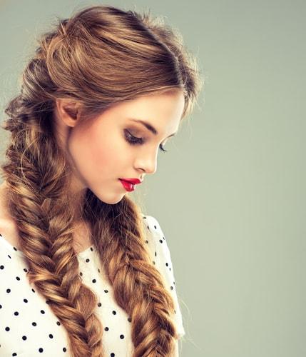 Плетение косы тверь 1