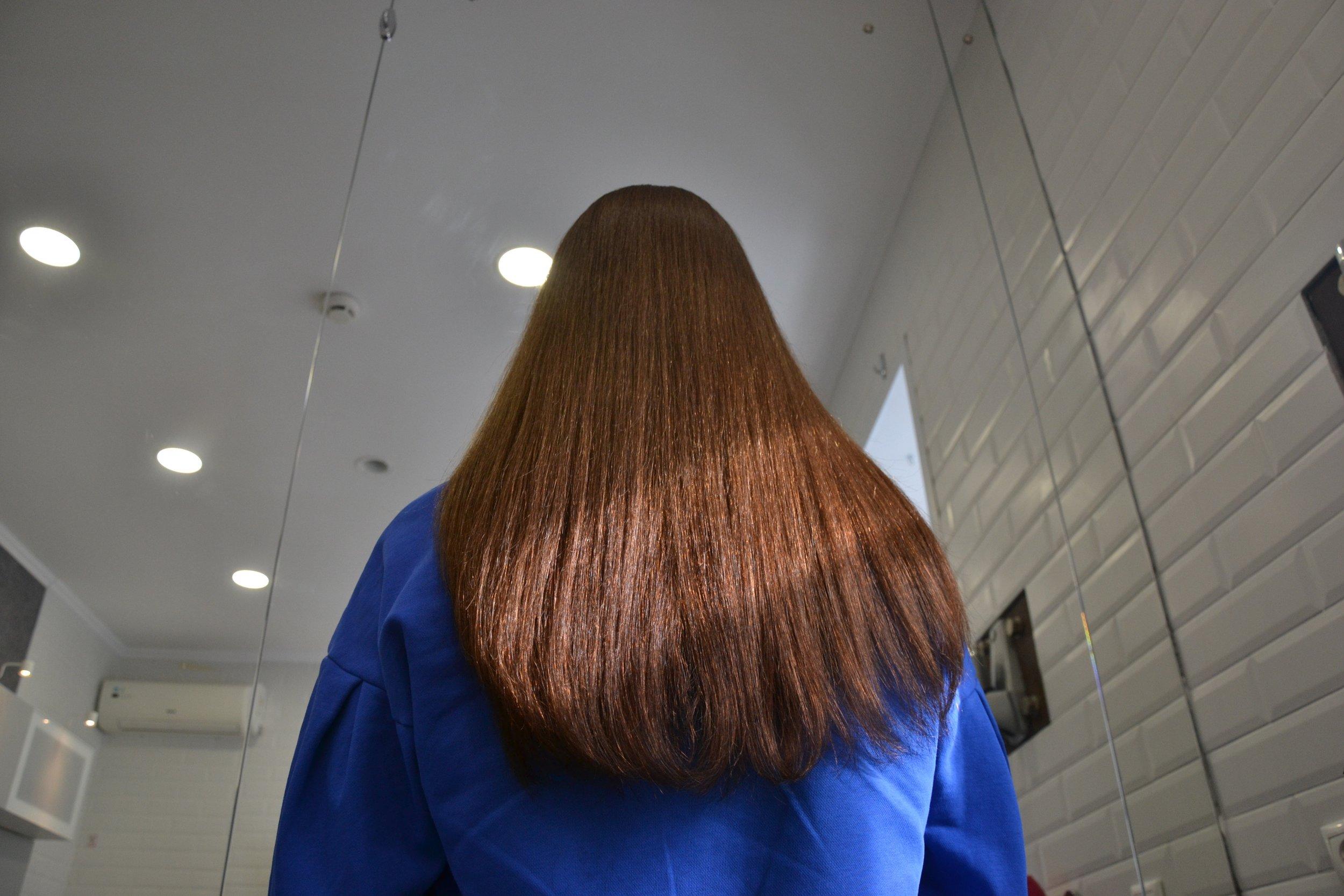 Кератиновое выпрямление волос Тверь