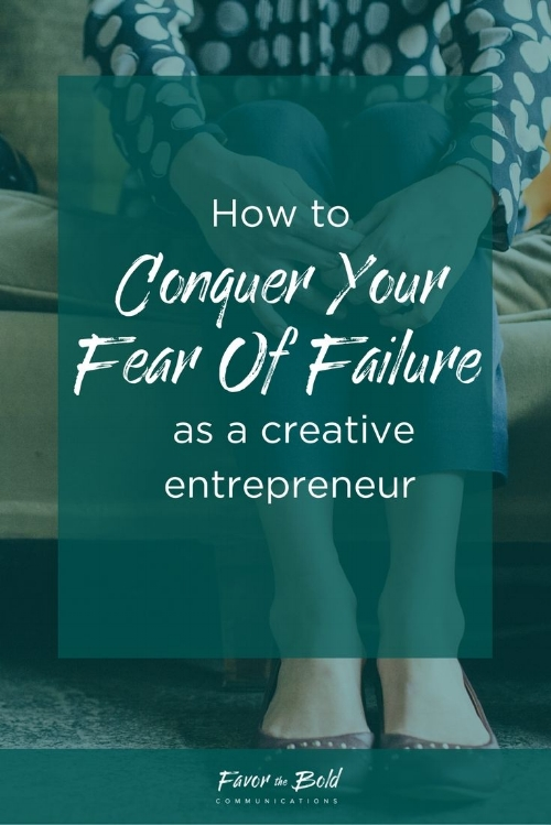 How to overcome your fear of failure to improve your creative business