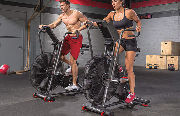 Workouts for the assault bike