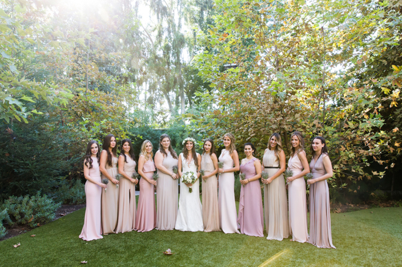 white-flowers-hidden-garden-los-angeles-wedding-heirloom-paper-invitations-the-garland-bridesmaids