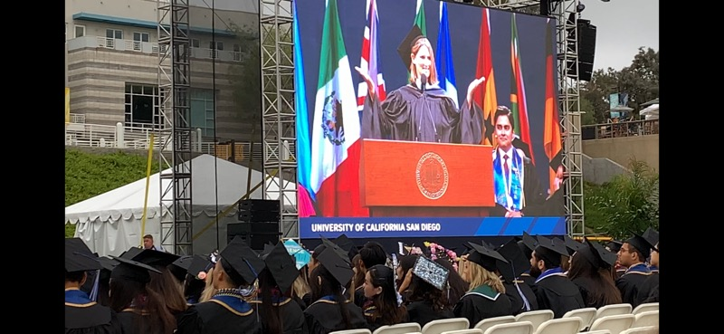 UCSD Commencement Speech 2019