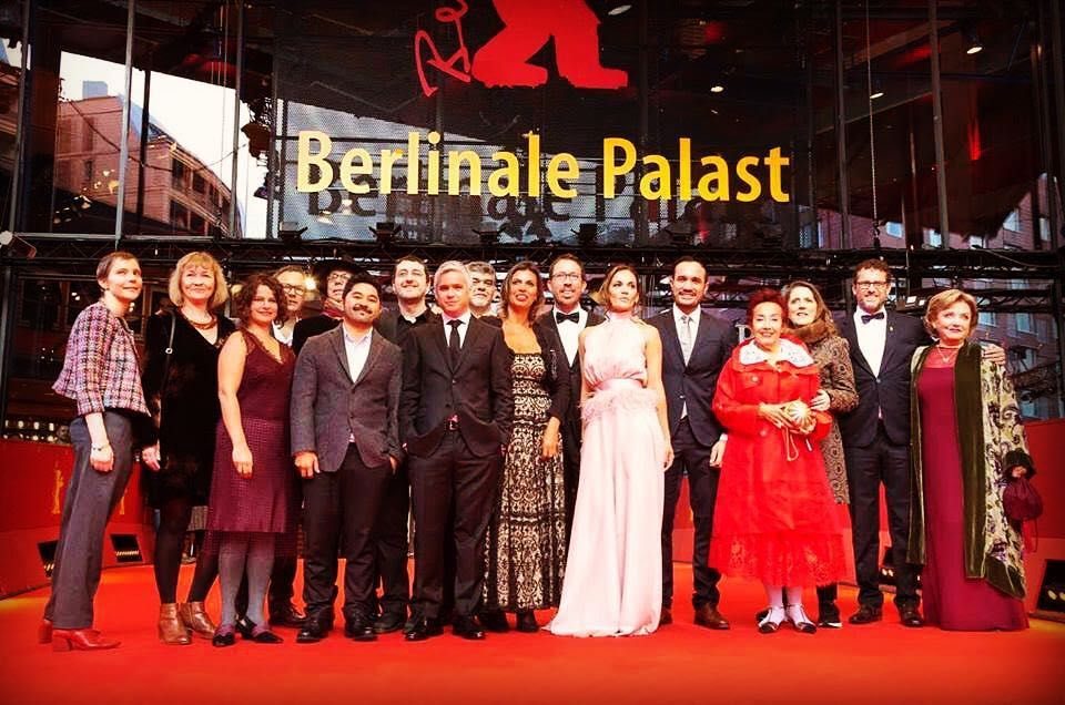 Full team of Las Herederas (The Heiresses) at the 2018 Berlinale.