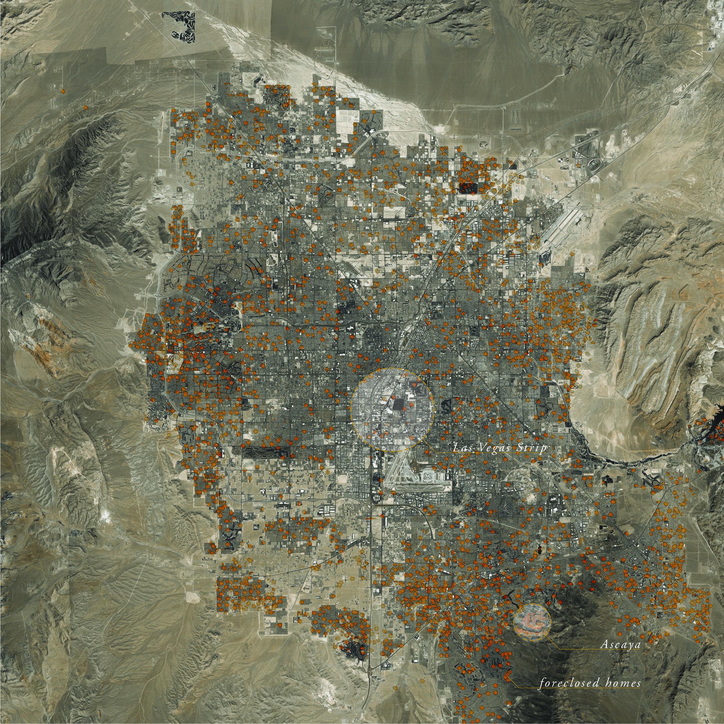 Las Vegas: A Foreclosure Epidemic (Image: Roy Cloutier)