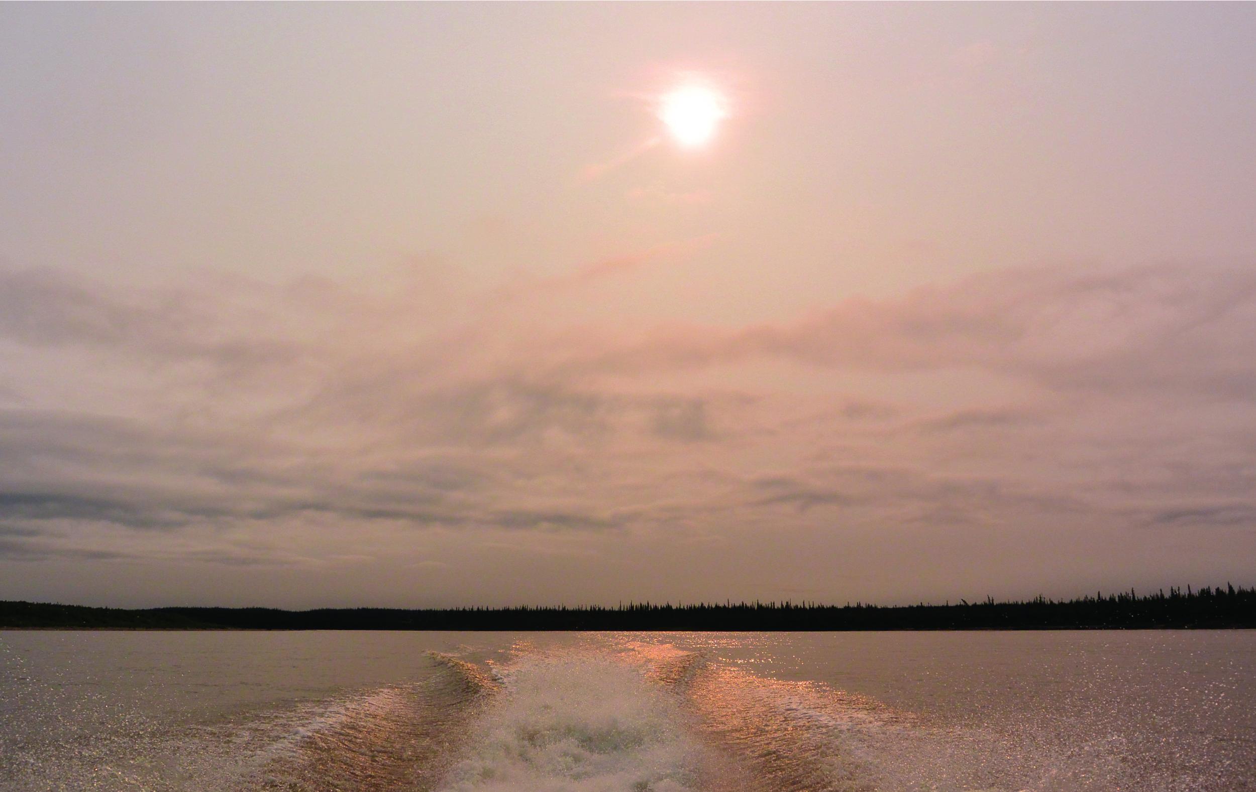 Image 2: Ch'oodèenjik (trans. Porcupine River), Photograph by author