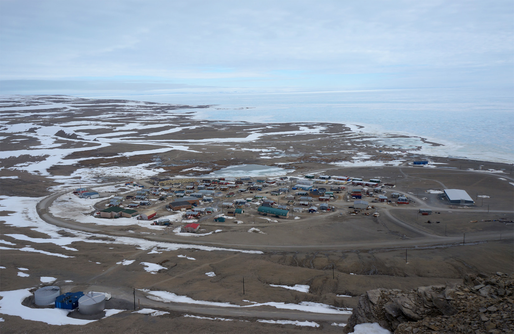 Figure 5: Resolute Bay from Signal Hill.