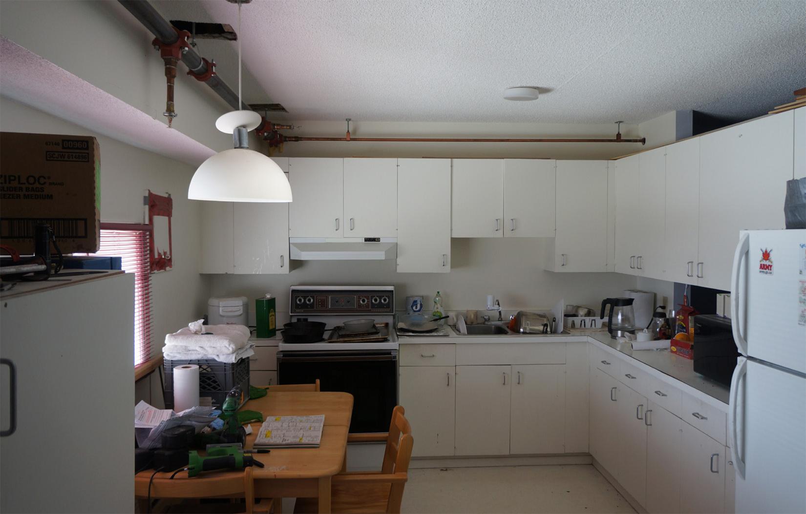 Figure 9: Apartment 7. Kitchen, South Camp Inn, Resolute Bay, NU