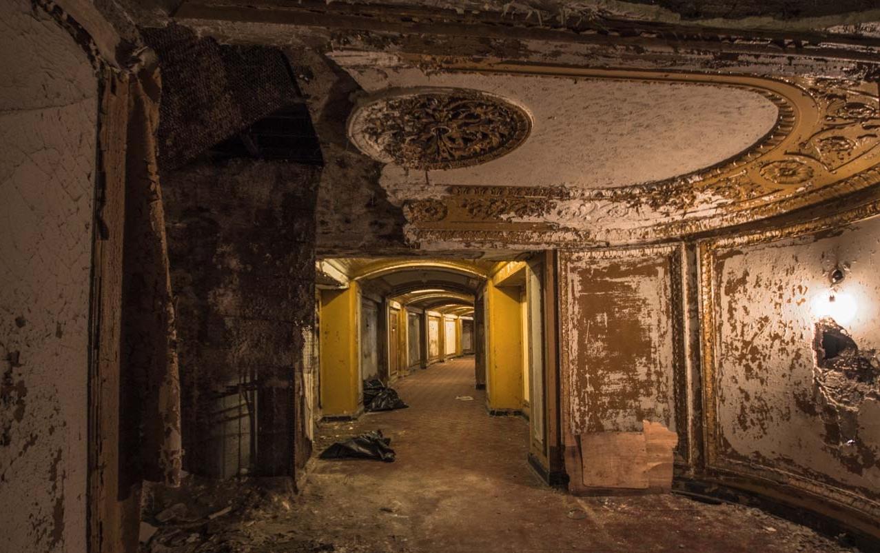 Interior Michigan Theatre Detroit, Photo by Ioanna Sakellaraki