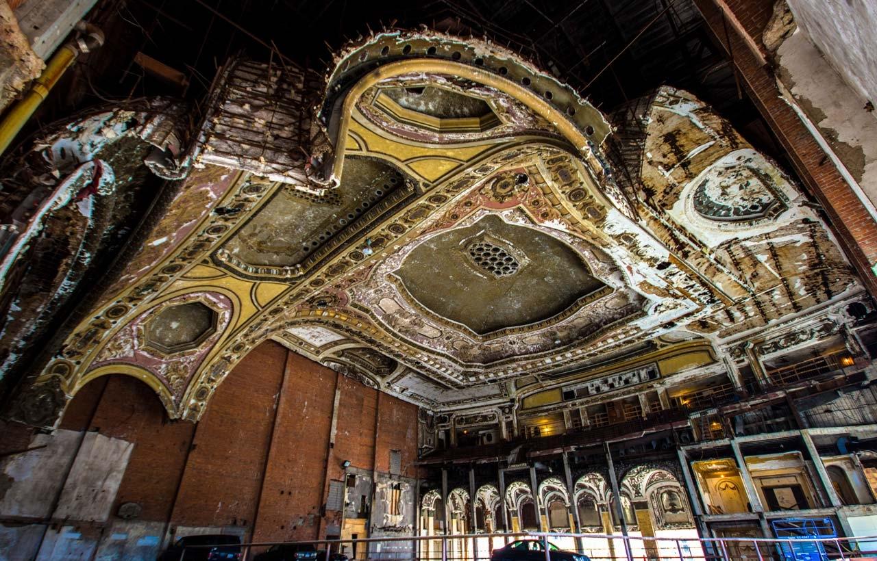 Michigan Theatre Detroit, Photo by Ioanna Sakellaraki
