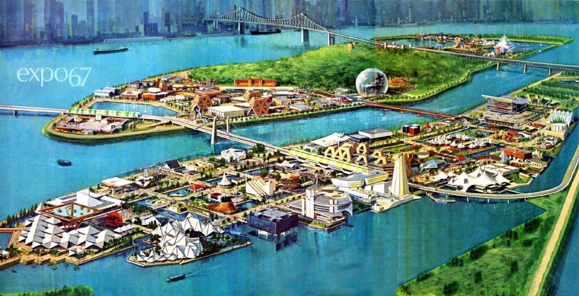 Image 1: Expo 67 - Brave New World