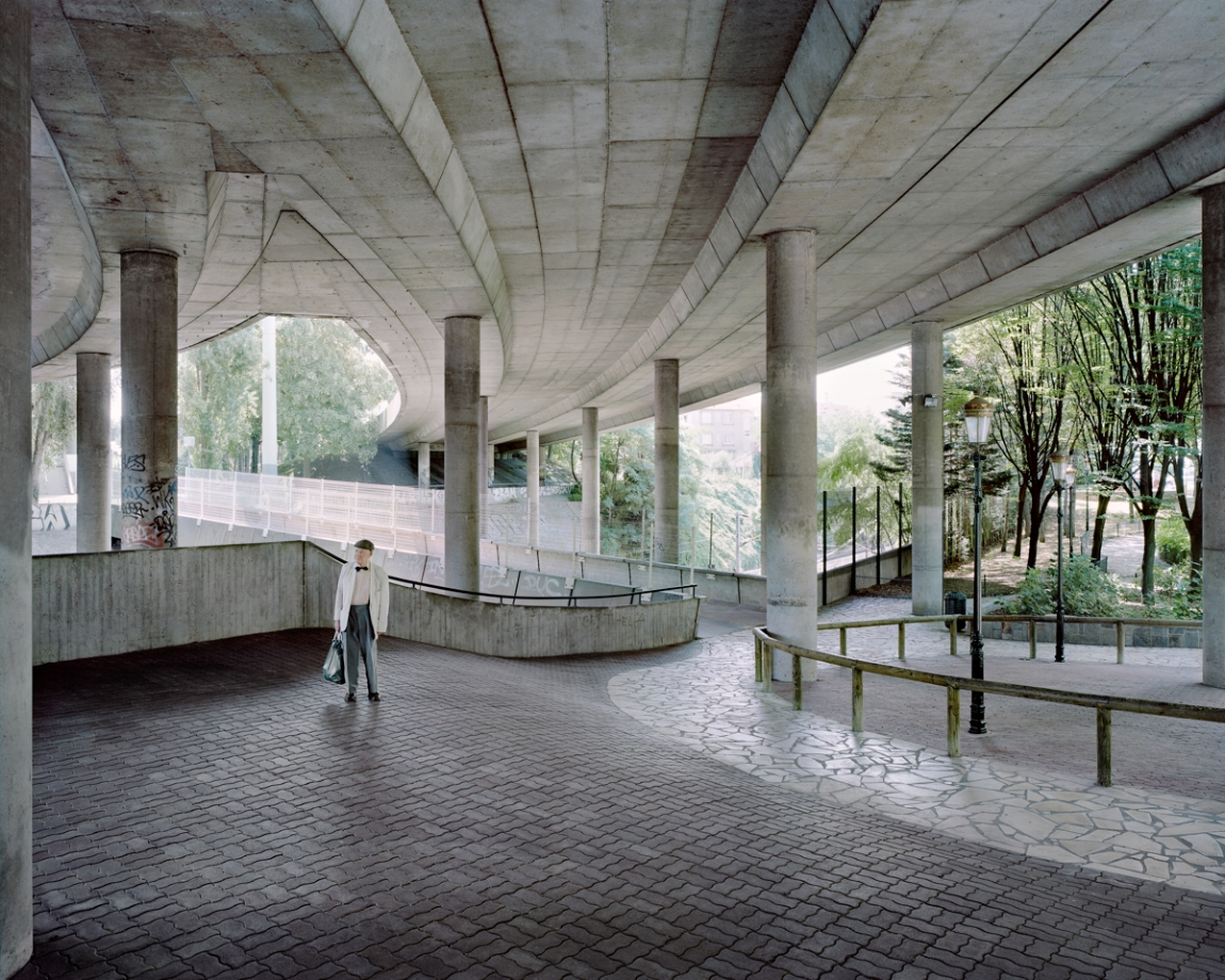 Les Tours Aillaud, Cité Pablo Picasso, Nanterre, 2013. Photograph by Laurent Kronental.