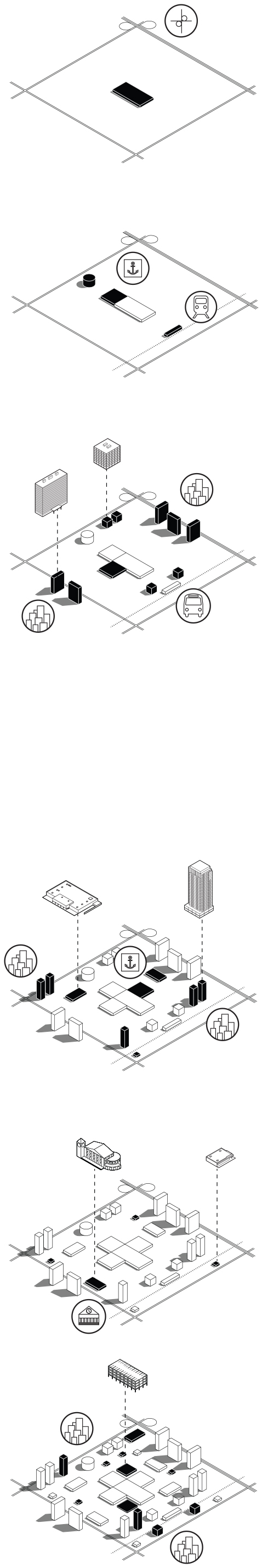 Image 2 / How to Play—Mall Growth Evolution, 2015. Illustration by Emma Dunn, Michael Piper, and Zoe Renaud