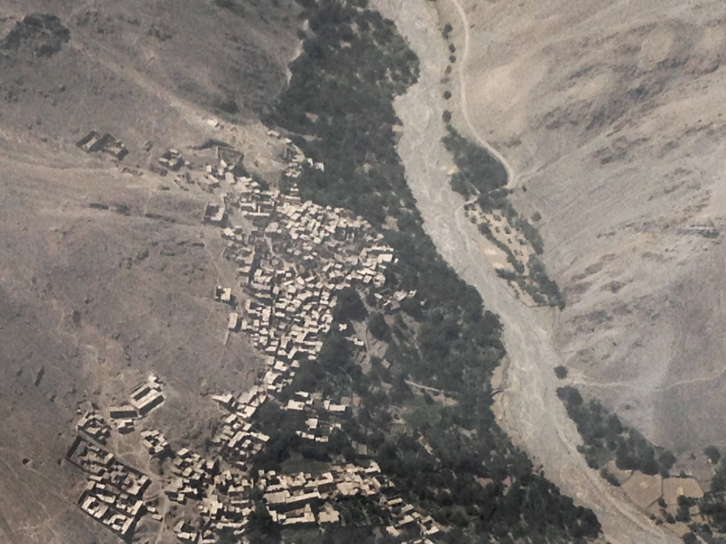 Image 1  Aerial view of village clusters in central Afghanistan, 2016. Photograph by Safira Lakhani