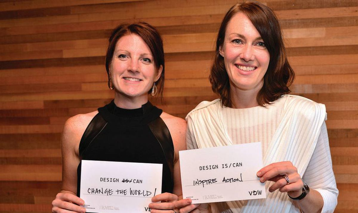 Jennifer Cutbill and Jane Cox at a VDW event on September 4, 2017 in Vancouver. Photo by Sergio Vera for The Globe and Mail.