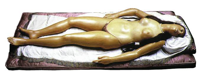 "Image 16 / Clemente Susini, Anatomical Venus, ""open"" position, 1782. Wax anatomical model. La Specola, Florence"
