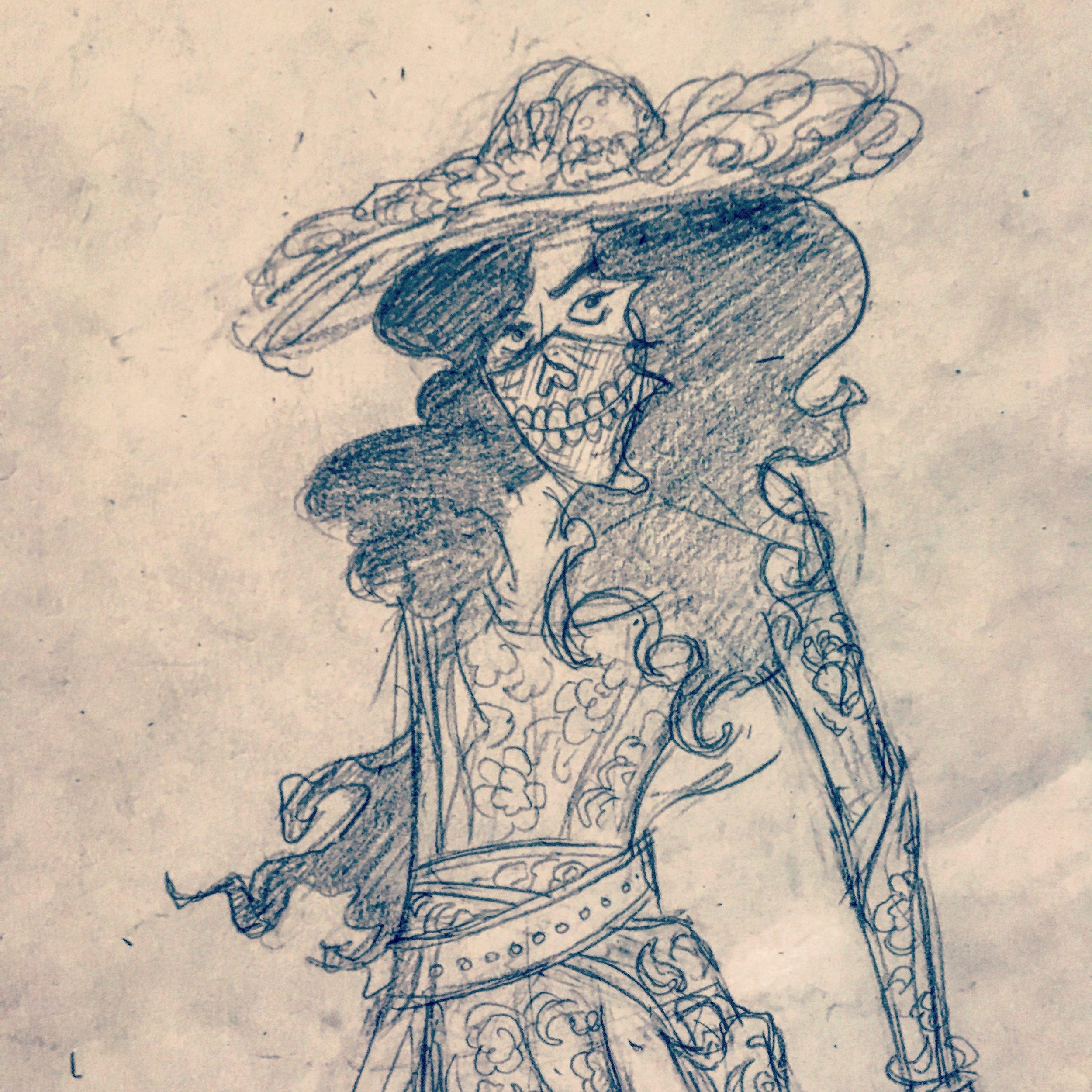 Character sketch of La Llorona
