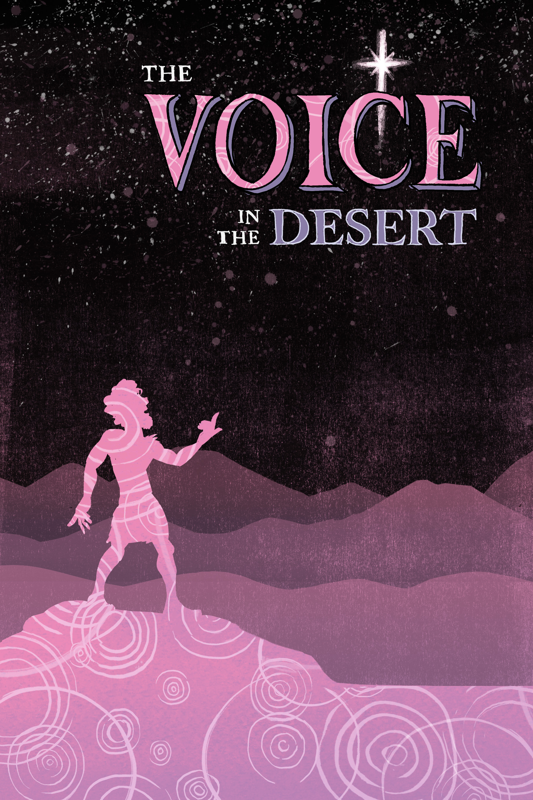 Original cover of  The Voice in the Desert