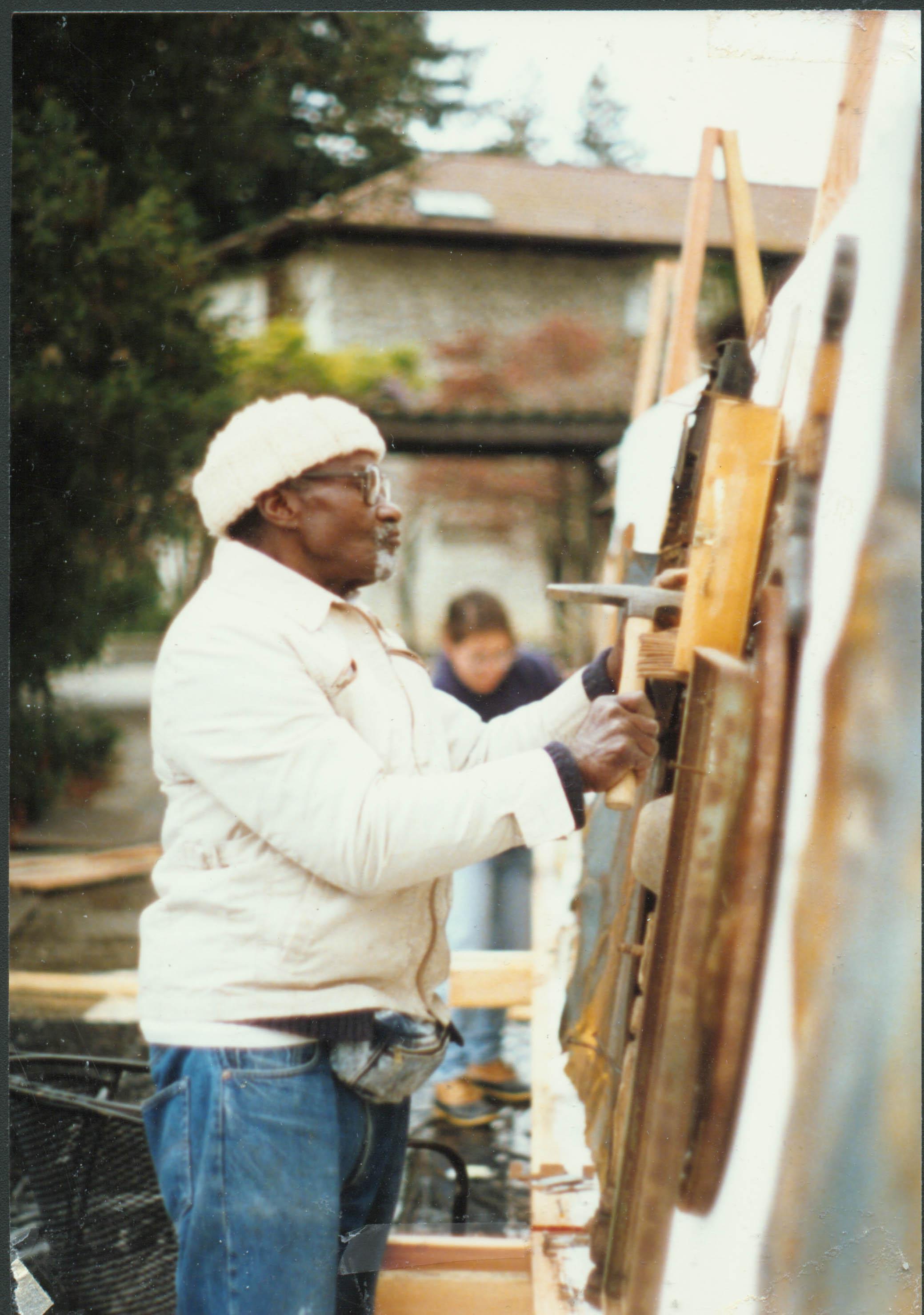 Noah at Cowell College, UC,Santa Cruz, 1990
