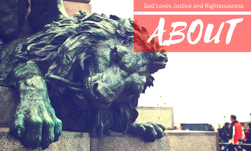 About God Loves Justice and Rightouesness