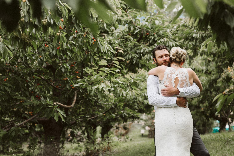 Backyard Wenatchee Wedding