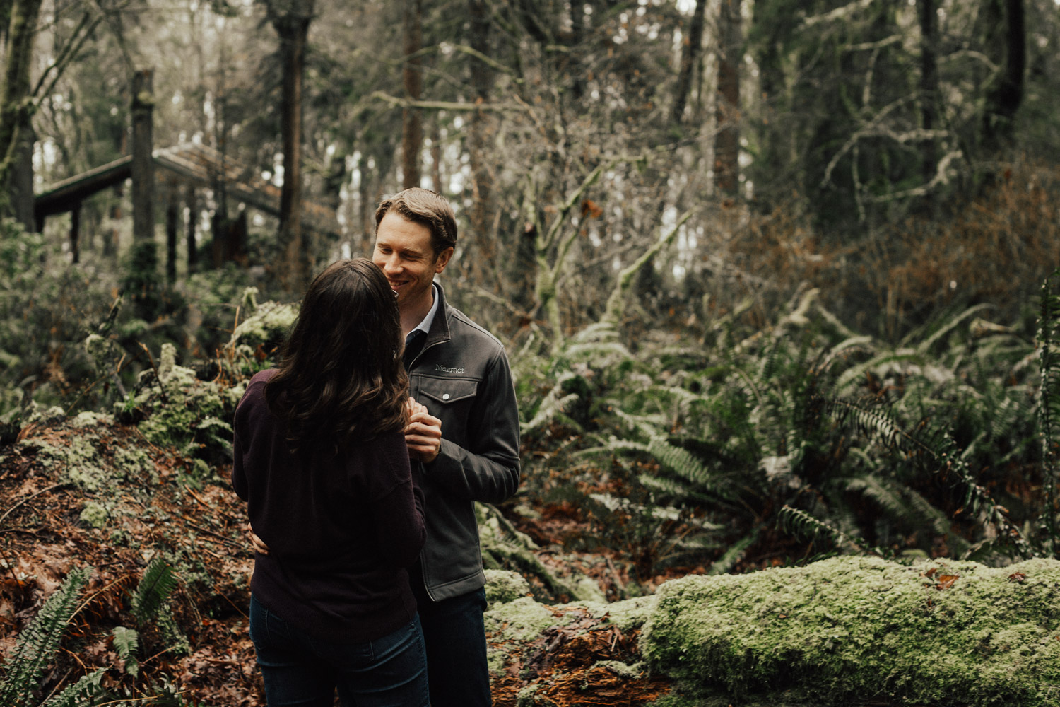 Point Defiance Park Engagement Session by Reese Ferguson