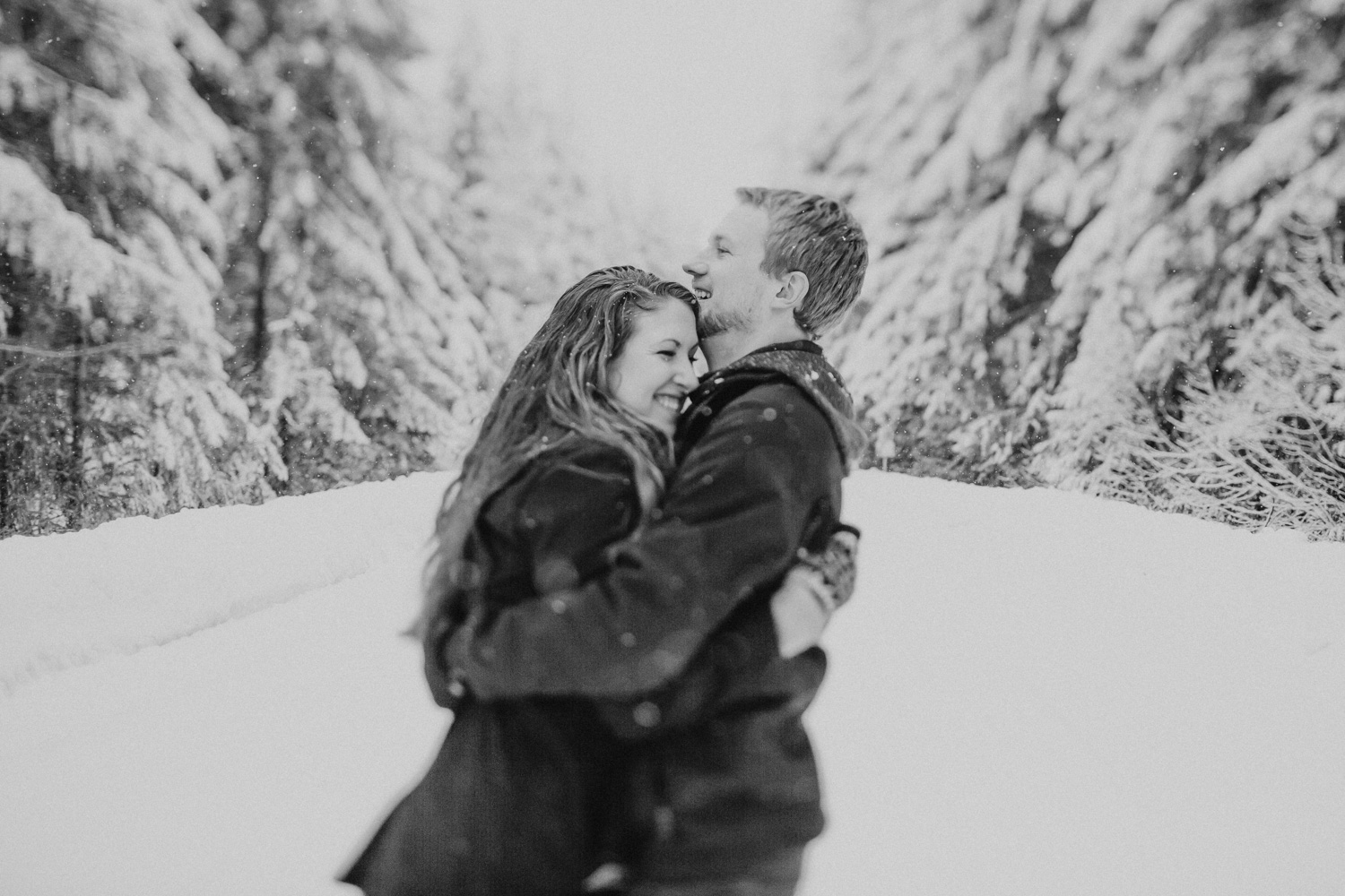 Mt Rainier Engagement Session