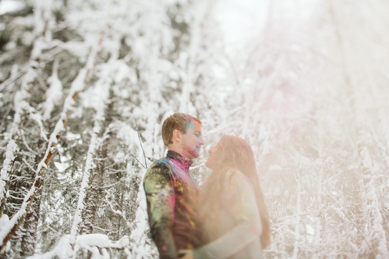 Mt Rainier Engagement Photos by Reese Ferguson