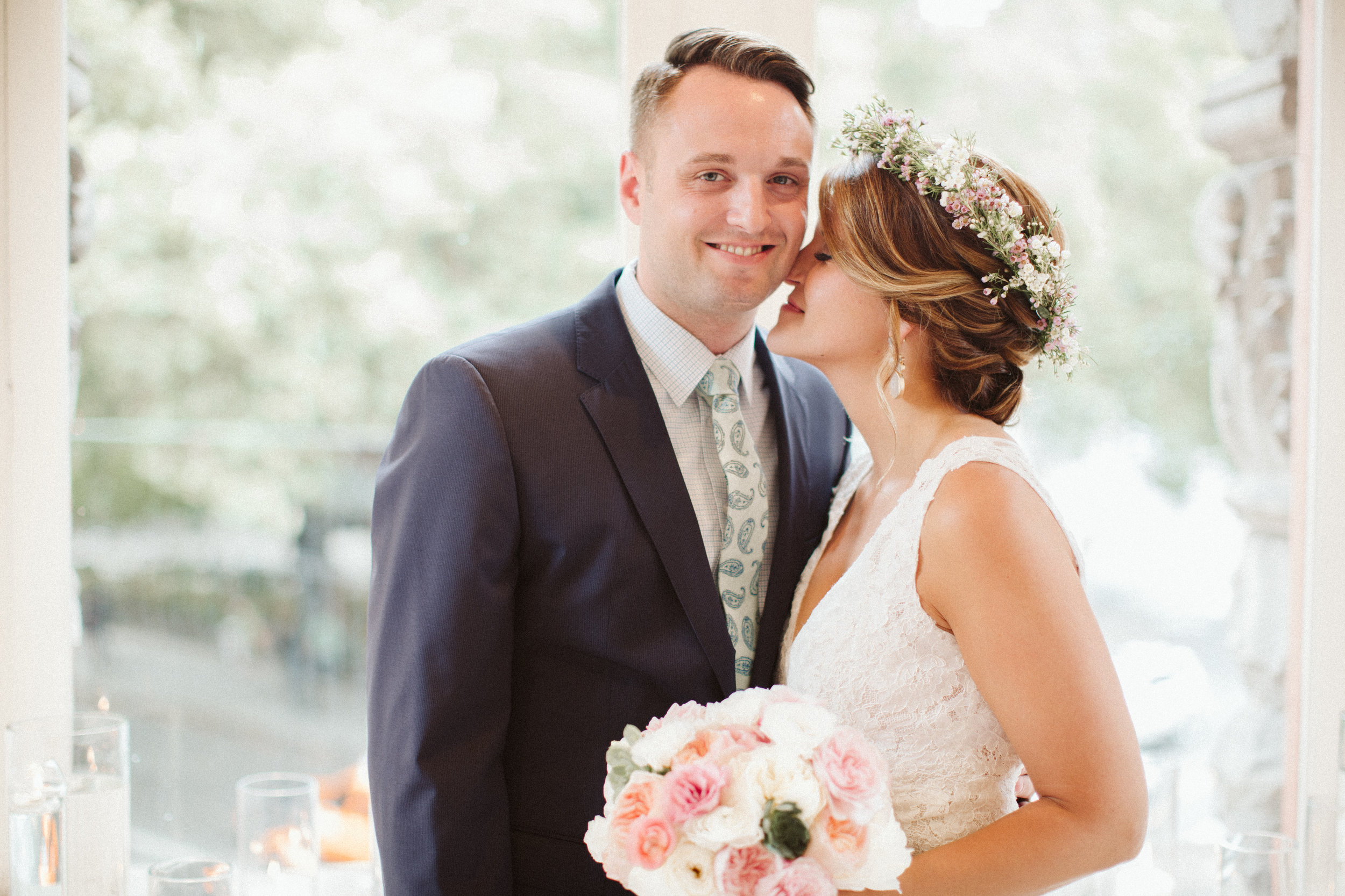 Seattle Wedding Pioneer Square Boho BHLDN Bride Photos by Reese Ferguson