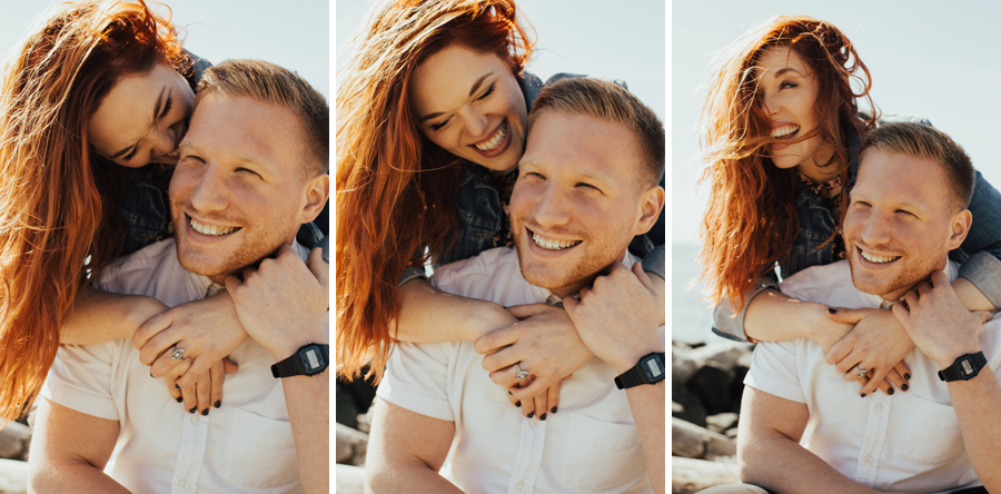 Olympic Sculpture Park Engagement Session Seattle by Reese Ferguson