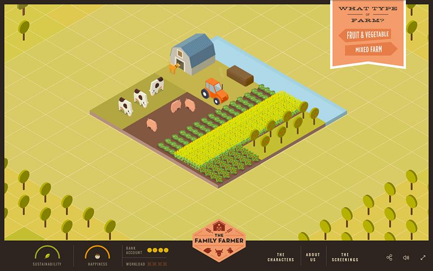 The Family Farmer by Dpt.