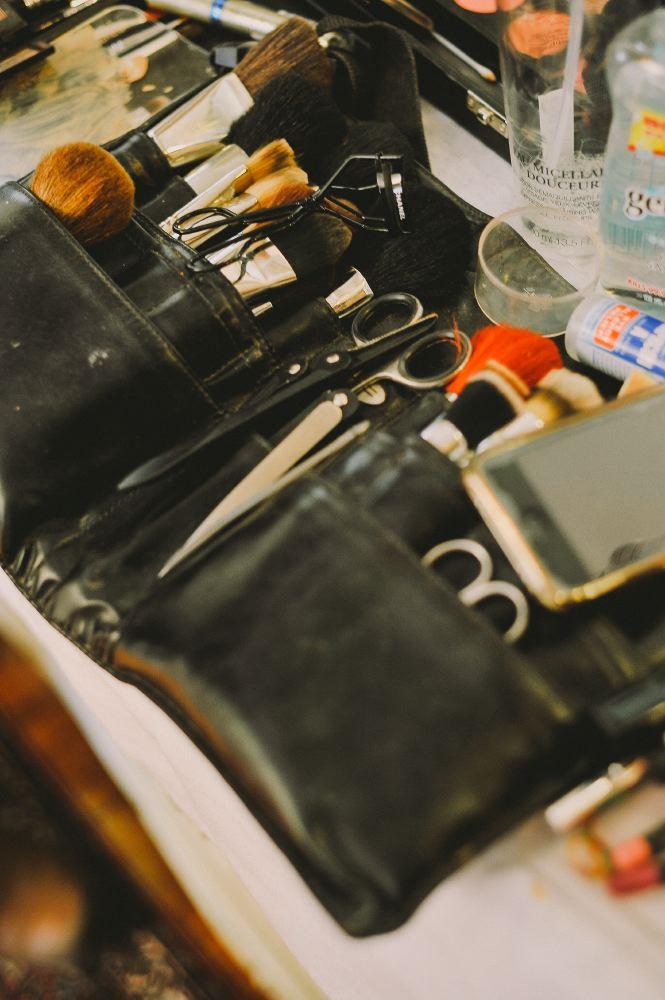 san   diego wedding photographer | closeup shot of makeup kit
