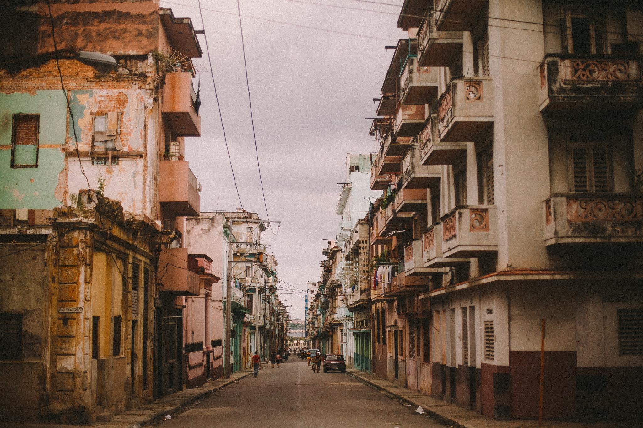 san diego wedding   photographer | urban residential street in cuba