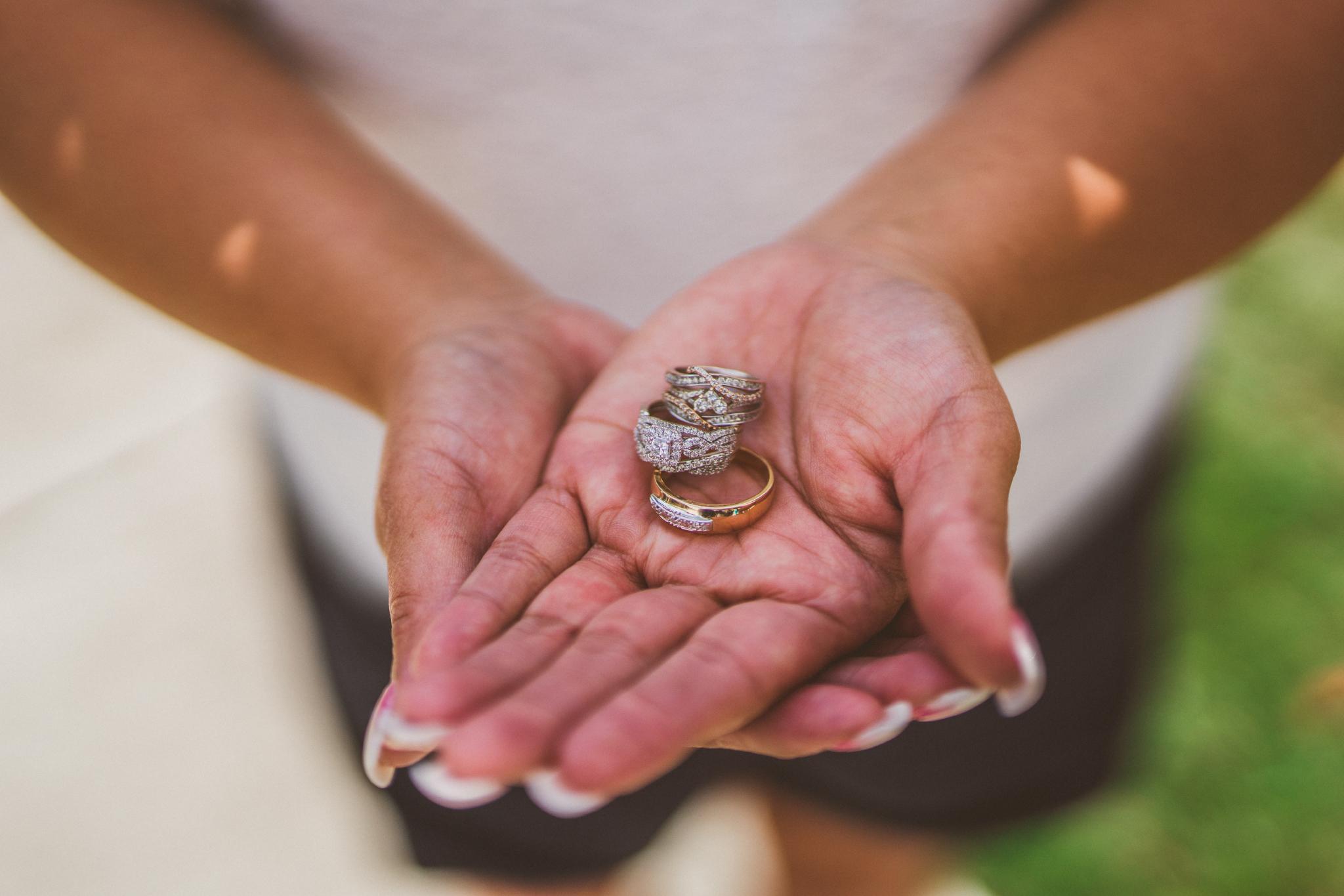 san diego wedding   photographer   rings on hand