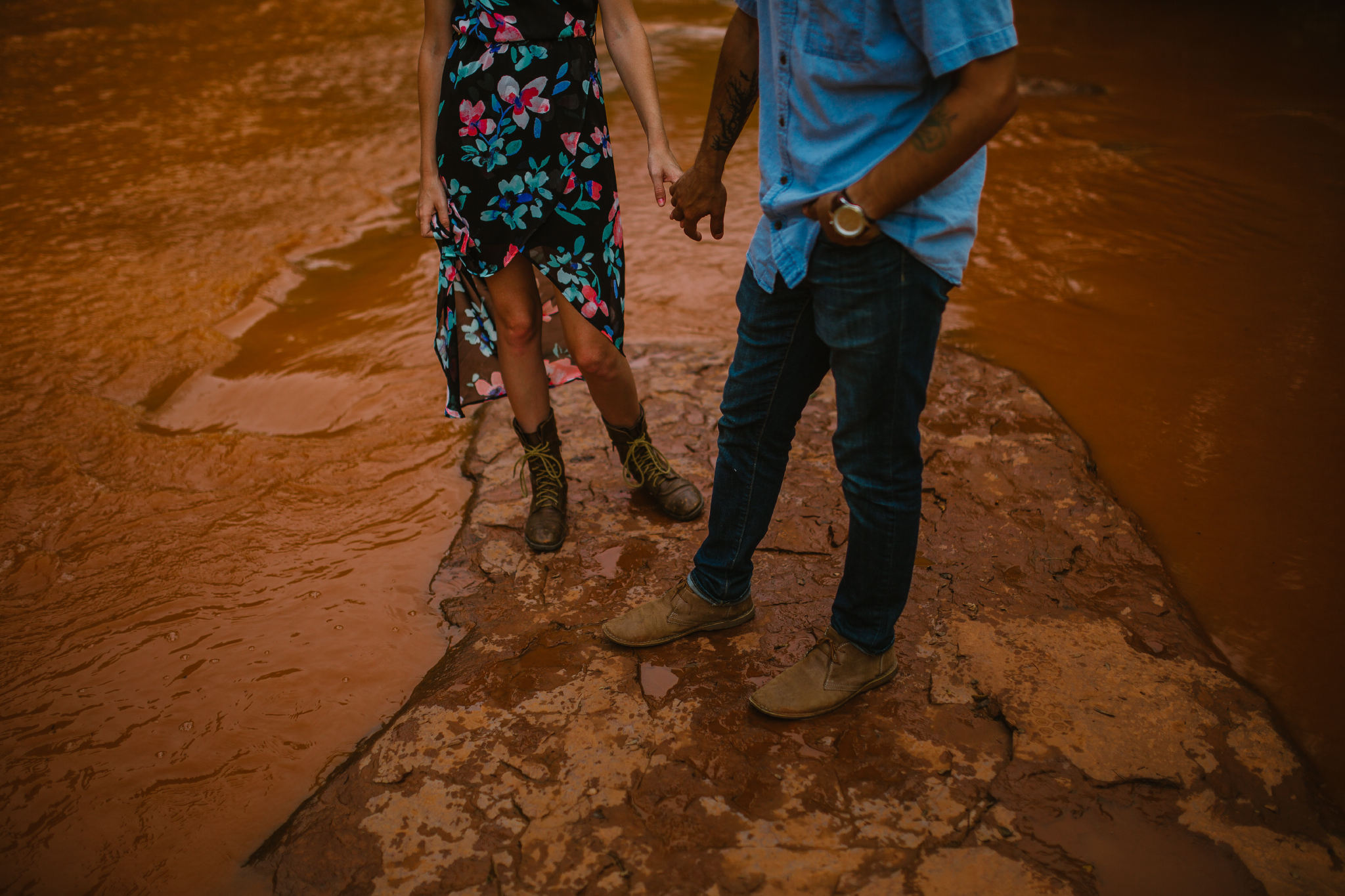 san diego wedding   photographer | lower body of man in blue with woman in boots