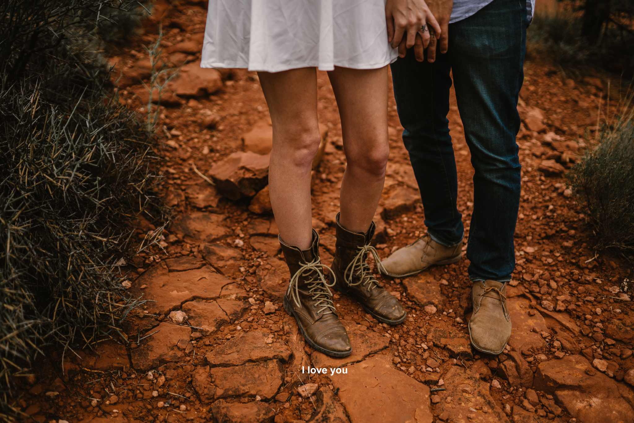 san diego wedding   photographer | bottom half of woman in boots with man