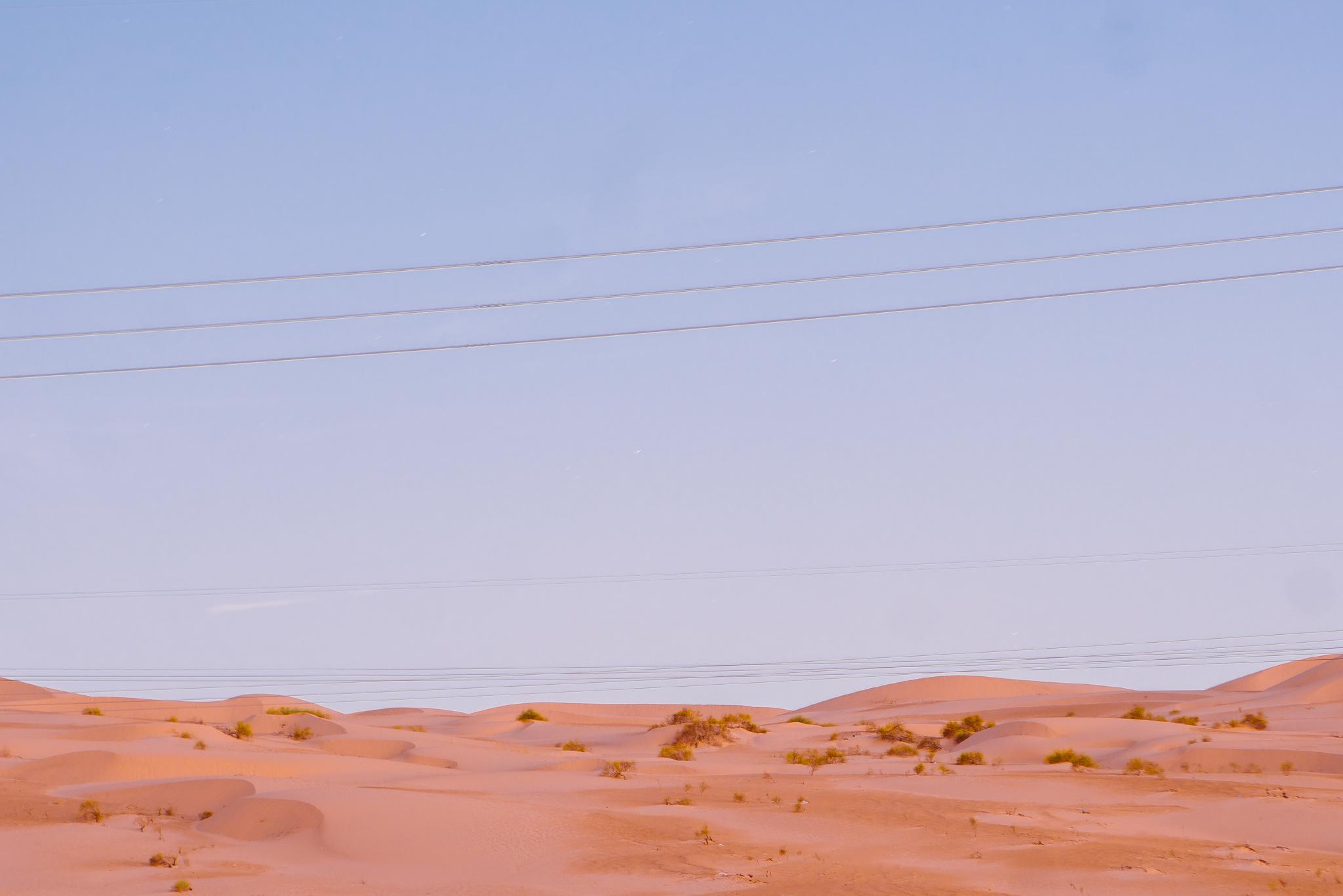 san diego wedding   photographer | powerlines above desert