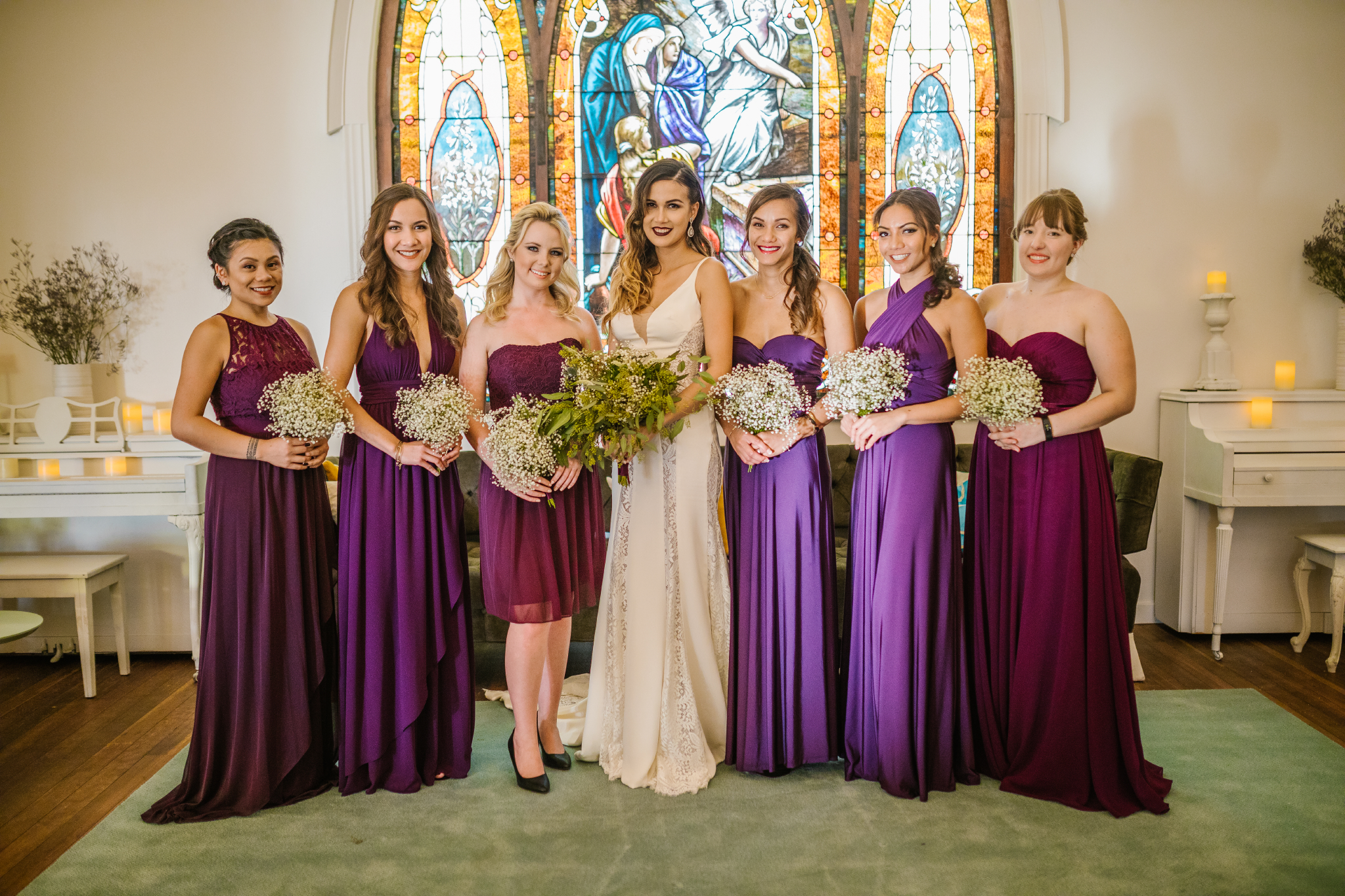 san diego wedding   photographer | bridesmaids with bride