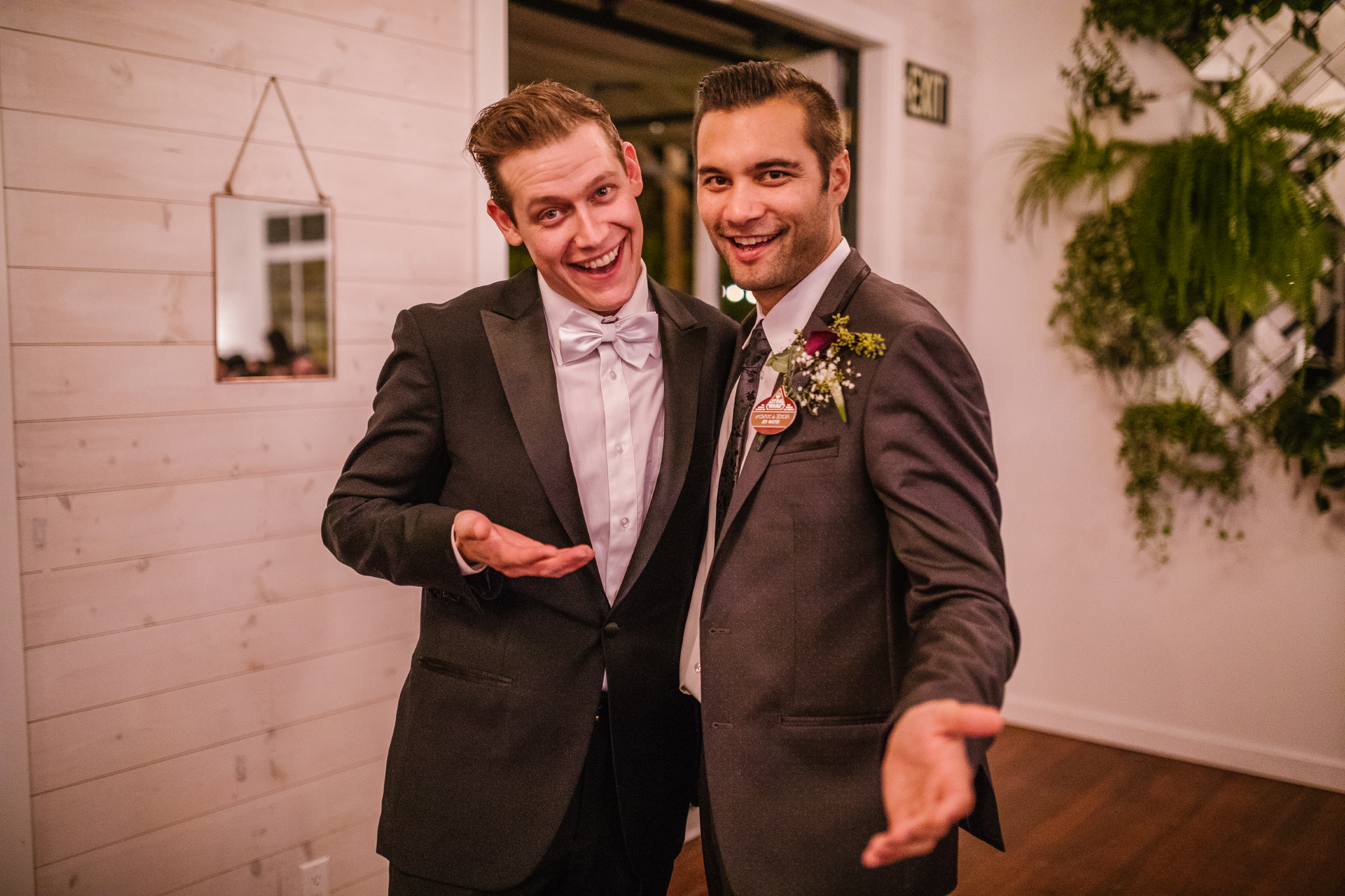 san diego wedding   photographer   men in suits smiling at camera