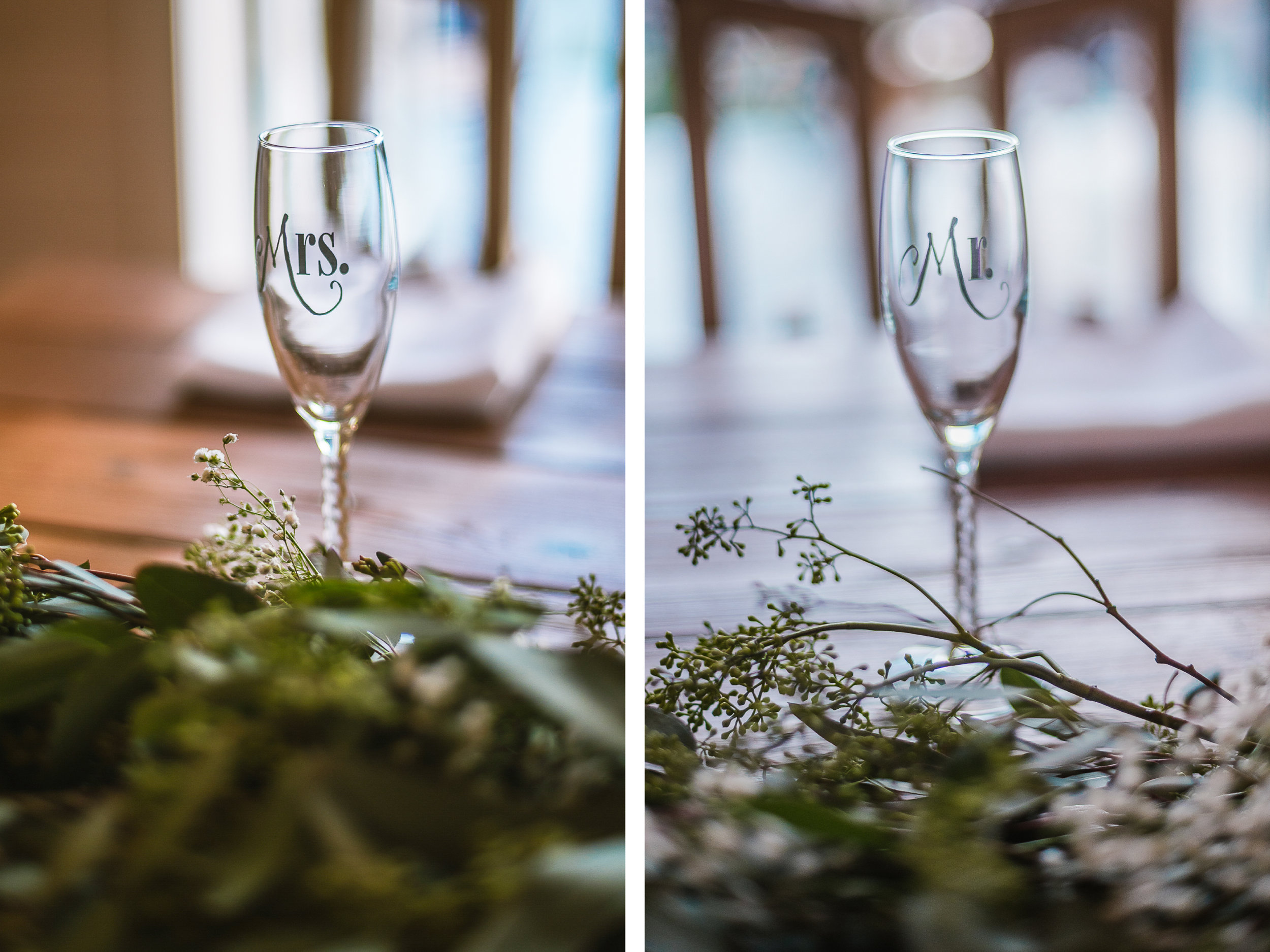 san diego wedding   photographer   collage of champagne glasses
