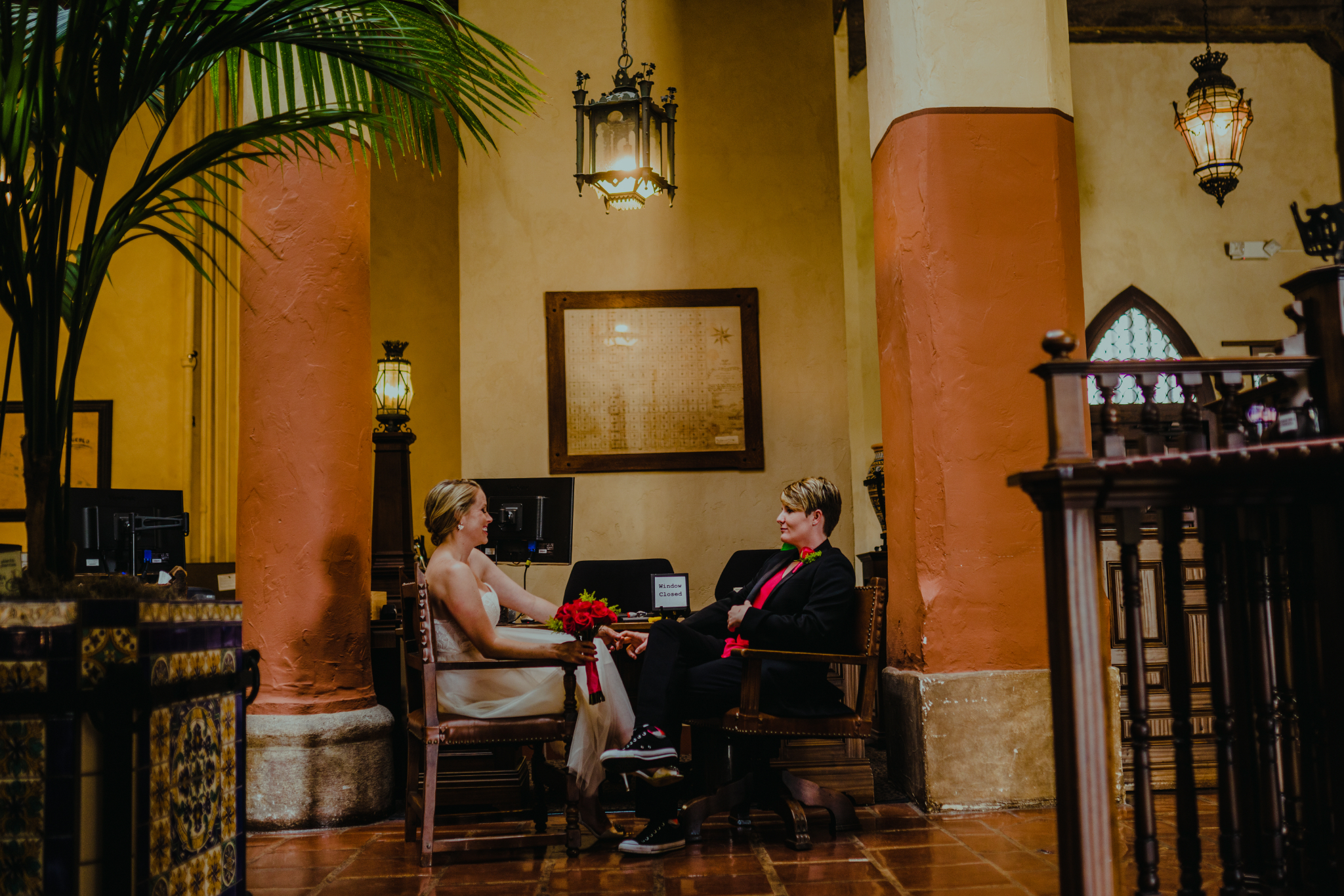 san diego wedding   photographer | women sitting looking at each other