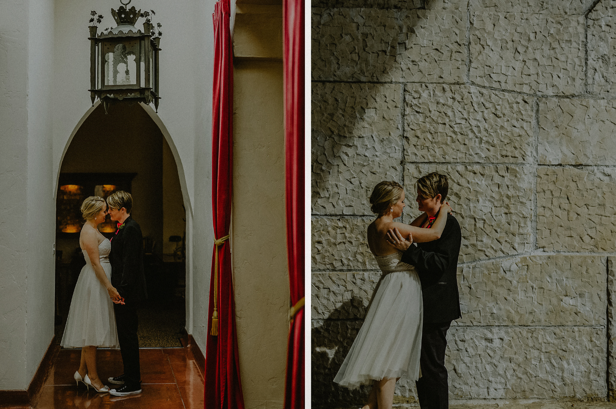 san diego wedding   photographer | collage of women looking at each other in different settings