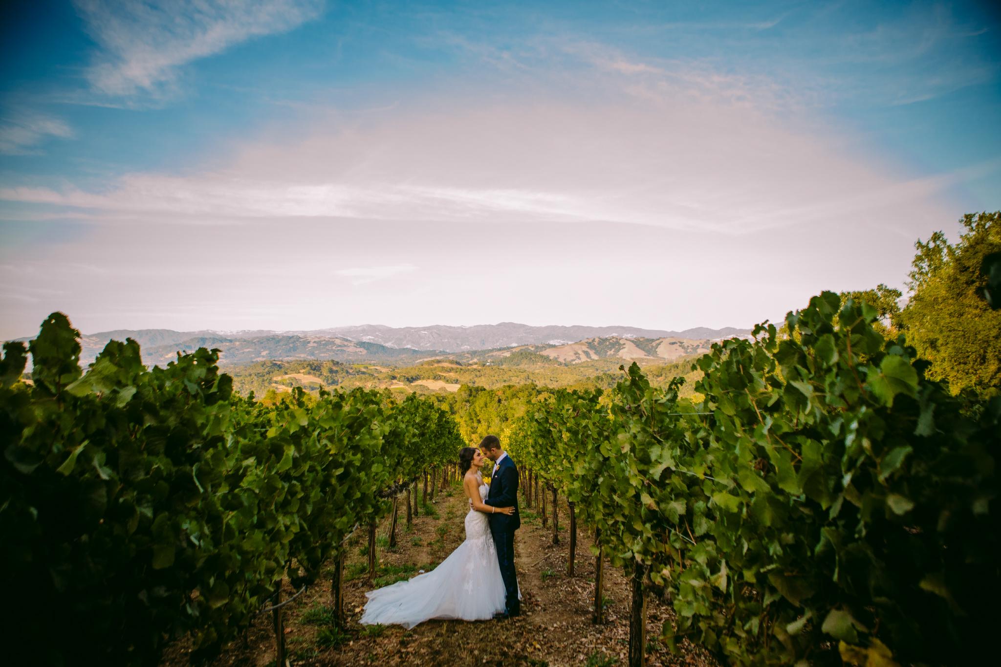 san diego wedding   photographer | couple in field