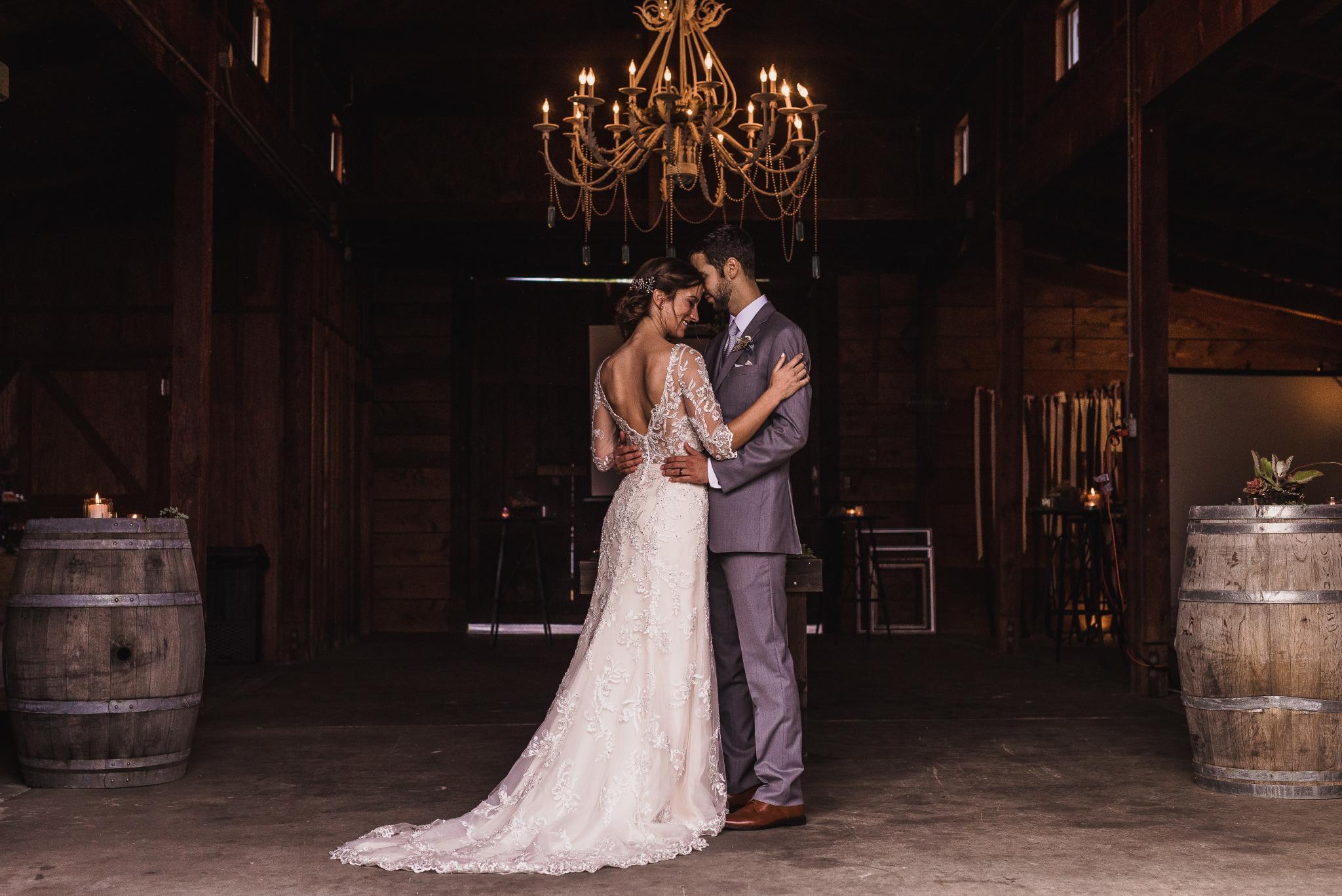 san diego wedding   photographer | couple dancing under chandelier