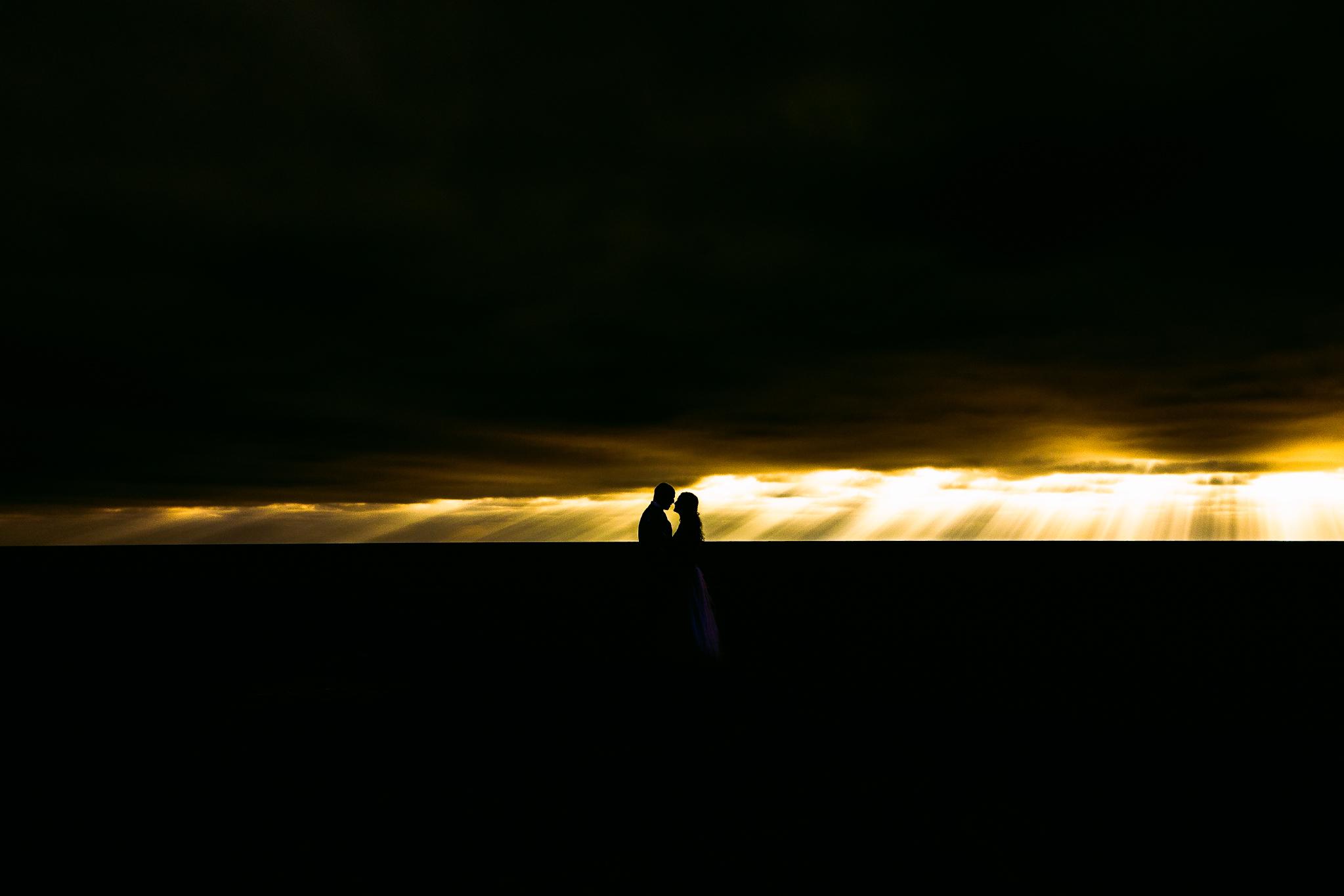san diego wedding   photographer | couple in sunset