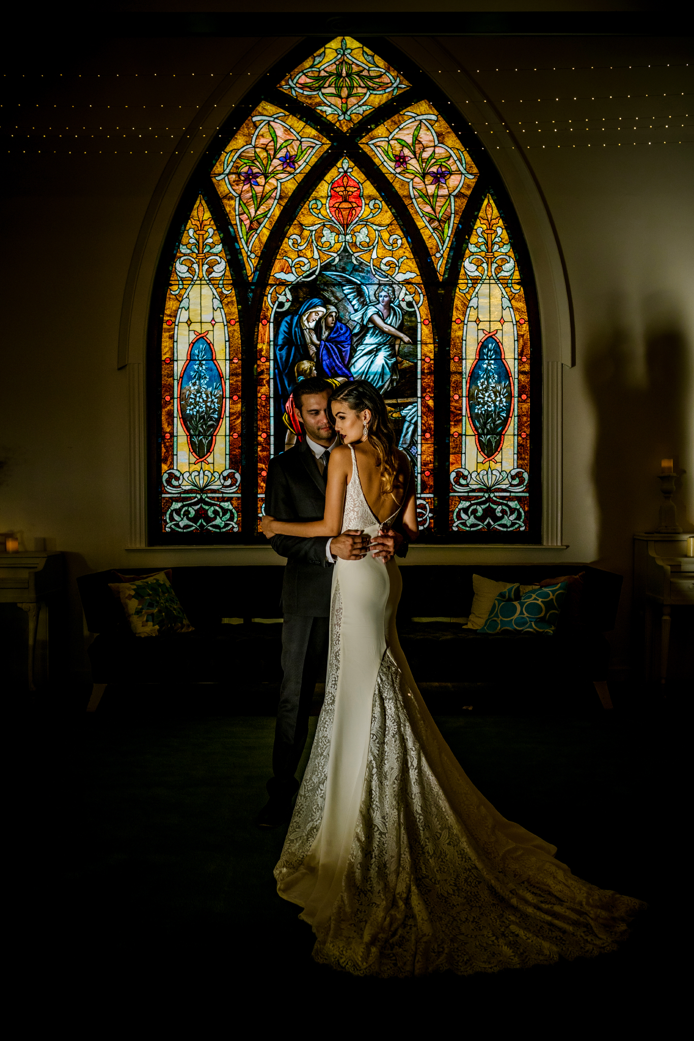 san diego wedding   photographer | couple in chapel